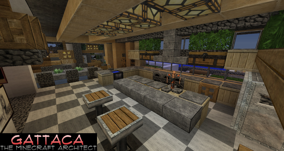 Minecraft kitchen furniture ideas furniture design blogmetro for Kitchen ideas minecraft